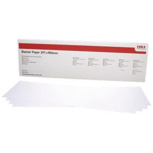 Papel Banner OKI A3 297 x 900 mm